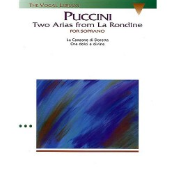 TWO ARIAS FROM LA RONDINE