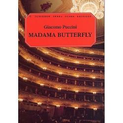 MADAMA BUTTERFLY (Vocal score)
