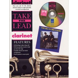 TAKE THE LEAD : BLUES BROTHERS (CLARINET)  (+ CD)