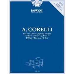 A. Corelli: Sonata for Descant (Soprano) Recorder and Basso cont