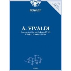 A. Vivaldi: Concerto for Cello and Orchestra, Rv 399 Ut majeur