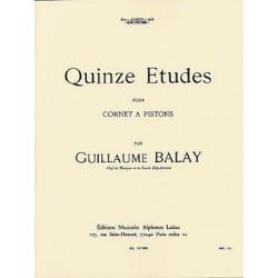BALAY QUINZE ETUDES (CORNET À PISTONS)