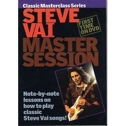 DVD MASTER SESSION STEVE VAI