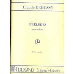 DEBUSSY PRELUDES VOL.1 PIANO