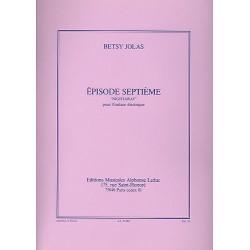 BETSY JOLAS : EPISODE Nº7 (guitare électrique)