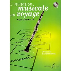 INVITATION MUSICALE AU VOYAGE (+CD)