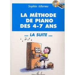 LA MÉTHODE DE PIANO DES 4-7 ANS LA SUITE