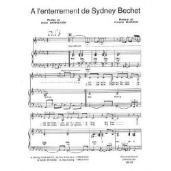 A L'ENTERREMENT DE SYDNEY BECHET