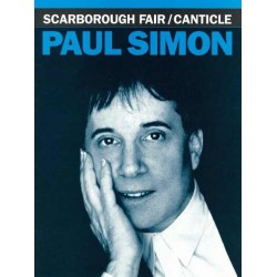 Sheet music SCARBOROUGH FAIR CANTICLE Simon & Garfunkel