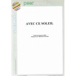AVEC CE SOLEIL
