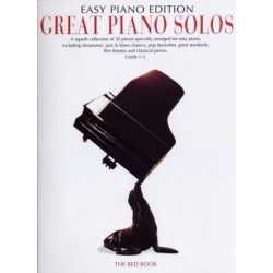 GREAT PIANO SOLOS THE RED BOOK EASY PIANO