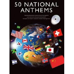 50 NATIONAL ANTHEMS (+CD)