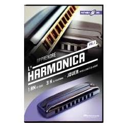 APPRENDRE L'HARMONICA Vol. 1 - MUSICATEM (DVD)