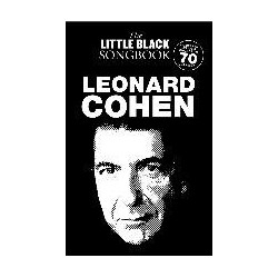 THE LITTLE BLACK SONGBOOK - LEONARD COHEN