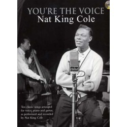 NAT KING COLE YOU'RE THE VOICE (+CD)