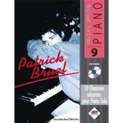 SPECIAL PIANO N°9 PATRICK BRUEL (+CD)