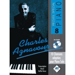 Songbook SPECIAL PIANO N°8 CHARLES AZNAVOUR