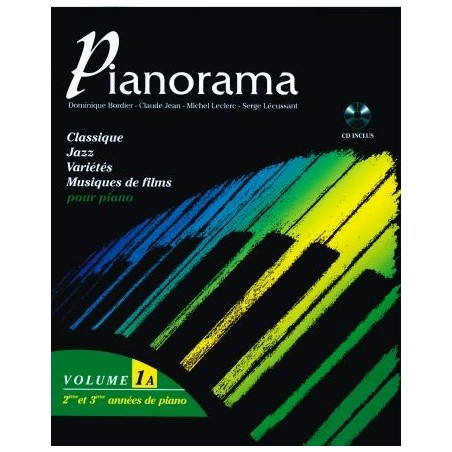 PIANORAMA - Volume 1A (+CD)