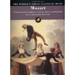THE WORLD'S GREAT CLASSICAL MUSIC : MOZART Easy to Intermediate