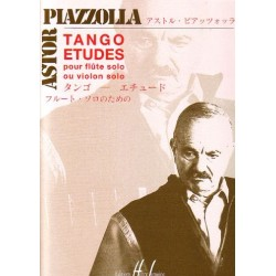 Sheet music TANGO-ÉTUDES POUR FLÛTE SEULE Astor Piazzolla