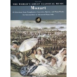THE WORLD'S GREAT CLASSICAL MUSIC : MOZART Piano Solo