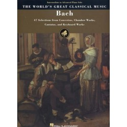 THE WORLD'S GREAT CLASSICAL MUSIC : BACH Interm. to Adv.