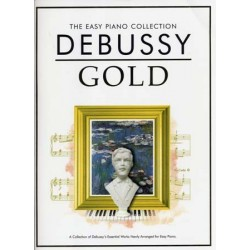 THE EASY PIANO COLLECTION DEBUSSY GOLD