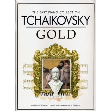 THE EASY PIANO COLLECTION TCHAIKOVSKY GOLD (+CD)