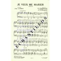 JE VEUX ME MARIER
