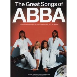 THE GREAT SONGS OF ABBA (+CD)