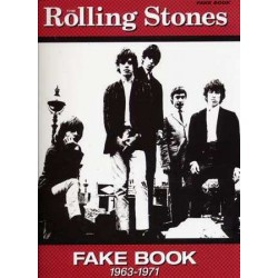 ROLLING STONES FAKE BOOK 1963-1971
