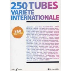 250 TUBES VARIETE INTERNATIONALE PAROLES ET ACCORDS