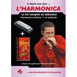 PACK DÉBUTANT HARMONICA (Méthode + HARMONICA HOHNER)