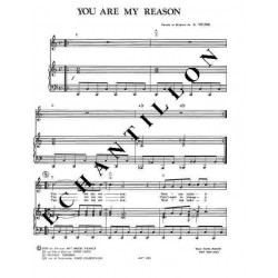 YOU ARE MY REASON
