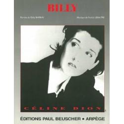 Sheet music BILLY Céline DION