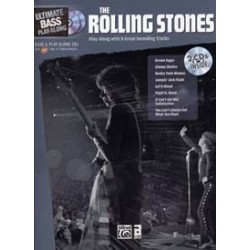 THE ROLLING STONES ULTIMATE BASS PLAY ALONG (+2 CD)