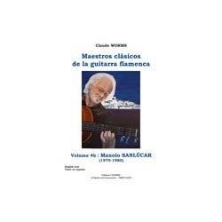 MAESTROS CLASICOS DE LA GUITARRA FLAMENCA Vol4B  Manolo Sanluca