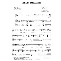 Sheet music ELLE IMAGINE Nakache