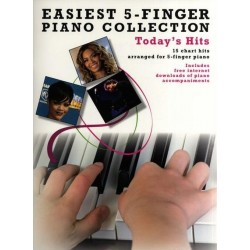 EASIEST 5-FINGER PIANO COLLECTION - TODAY'S HITS