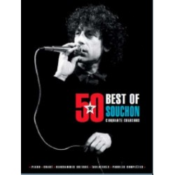 Songbook BEST OF SOUCHON 50 CHANSONS