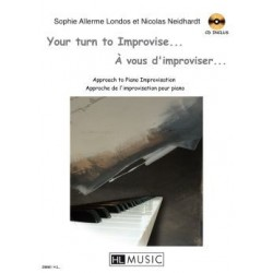 A VOUS D'IMPROVISER... - YOUR TURN TO IMPROVISE... (+CD)