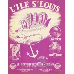 L'ILE ST LOUIS