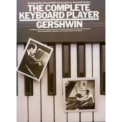 GERSHWIN THE COMPLETE KEYBOARD PLAYER
