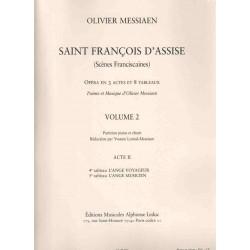 SAINT FRANÇOIS D'ASSISE Vol. 2 Acte II