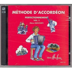 CD MÉTHODE D'ACCORDÉON VOL.2