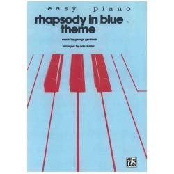 RHAPSODY IN BLUE easy piano