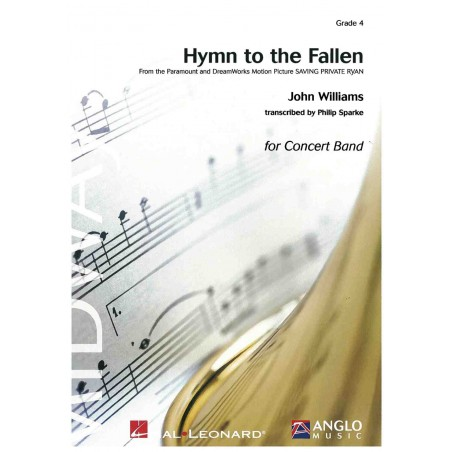 HYMN TO THE FALLEN for Concert Band (Score Only)
