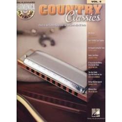 HARMONICA PLAY ALONG VOL.5 COUNTRY CLASSICS (+ CD)