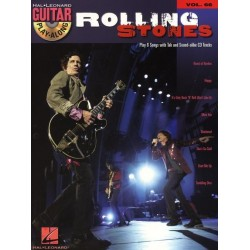 GUITAR PLAY-ALONG VOL.66 : ROLLING STONES