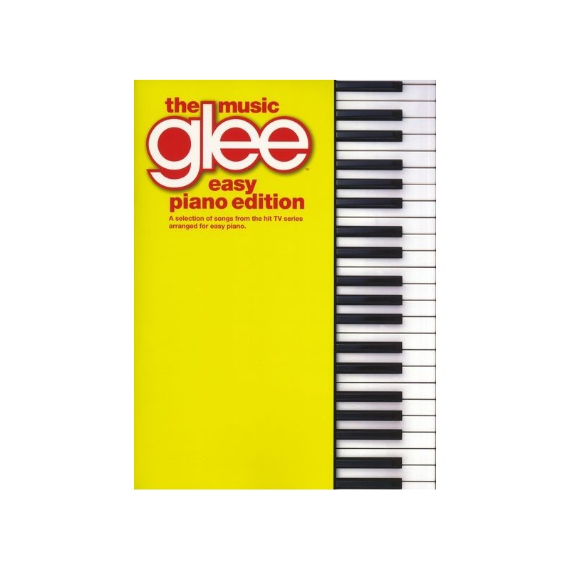 THE MUSIC GLEE - EASY PIANO EDITION